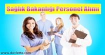 sağlık bakanlığı personel alımı, 20 bin personel alımı
