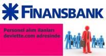 finansbank lise mezunu memur ve personel alımı iş başvurusu formu 2015