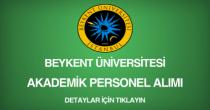 beykent üniversitesi, akademik personel alımı