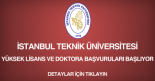 istanbul teknik üniversitesi, yüksek lisans ve doktora başvurusu