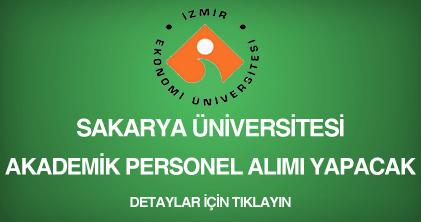 izmir ekonomi üniversitesi, akademik personel alımı