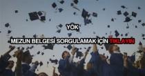 YÖK mezun belgesi sorgulama