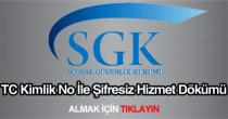 SSK, SGK, Bağkur hizmet dökümü sorgulama alma öğrenme