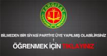 siyasi parti üyelik sorgulama öğrenme yargıtay
