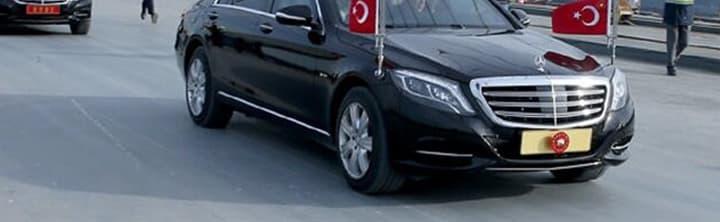 Cumhurbaşkanının araç plakası nedir?