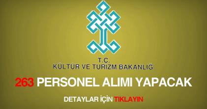 kültür ve turizm bakanlığı sözleşmeli personel alımı