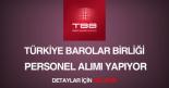 türkiye belediyeler birliği personel alımı
