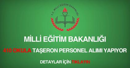 Milli Eğitim Bakanlığı taşeron personel alımı