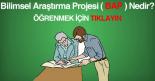 Bilimsel Araştırma Projesi ( BAP )