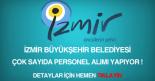 İzmir Büyükşehir Belediyesi personel, eleman, işçi, memur alımı