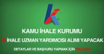 kamu ihale kurumu 18 ihale uzman yardımcısı alımı ilanı