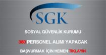 sosyal güvenlik kurumu, 380 sosyal güvenlik denetmen yardımcısı alımı