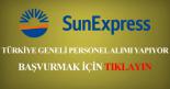 sunexpress personel alimi