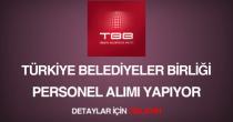 Türkiye Belediyeler Birliği sürekli işçi personel alımı