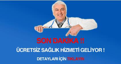 ücretsiz sağlık hizmeti