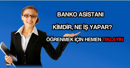 banko asistanı