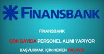 finansbank personel, eleman ve memur alımı ilanları