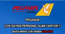 Pegasus işçi, personel ve eleman alımı ilanları
