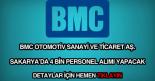 BMC personel alımı haberi.
