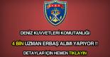 Deniz Kuvvetleri Komutanlığı uzman erbaş alımı ilanı.
