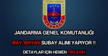jandarma genel komutanlığı bay bayan subay alımı ilanı