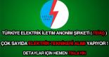 TEİAŞ elektrik teknikeri alımı ilanı
