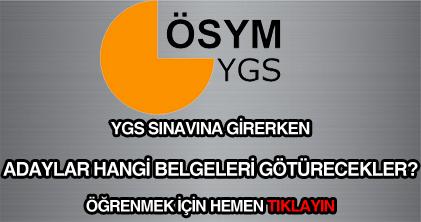 Yükseköğretime Geçiş Sınavı ( YGS ) hakkında bilgi.
