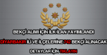 Diyarbakır ili ve ilçeleri için 742 bekçi alımı ilanı.