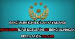 Şanlıurfa ( Viranşehir, Ceylanpınar ) bekçi alımı ilanı detayları.