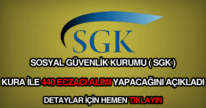SGK sözleşmeli eczacı alımı ilanı