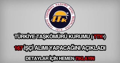 Türkiye Taşkömürü Kurumu eleman alımı ilanı