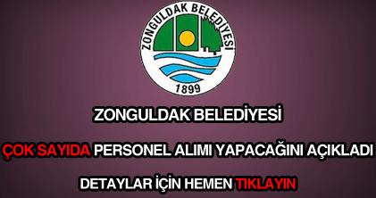 Zonguldak Belediyesi personel alımı