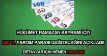 Ramazan Bayramı yardım paraları