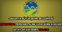 Sakarya Büyükşehir Belediyesi iş ilanları