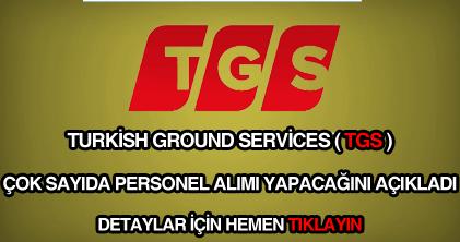 TGS personel alımı ve iş ilanları