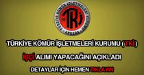 Türkiye Kömür İşletmeleri Kurumu işçi alımı ilanı