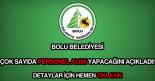 Bolu Belediyesi iş ilanları