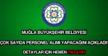 Muğla Büyükşehir Belediyesi iş ilanları