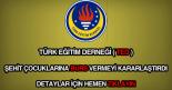 Türk Eğitim Derneği ( TED ) burs.