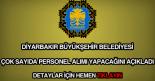 Diyarbakır Büyükşehir Belediyesi iş ilanları