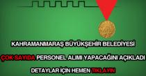 Kahramanmaraş Belediyesi güncel iş ilanları