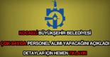 Kocaeli Büyükşehir Belediyesi güncel iş ilanları