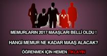 2017 Ocak memur maaşları