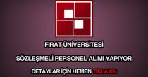 Fırat Üniversitesi personel alımı