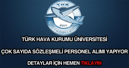 THK üniversitesi personel alımı
