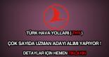 Türk Hava Yolları uzman alımı