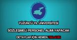 Yüzüncü Yıl Üniversitesi personel alımı
