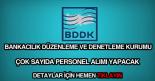 BDDK personel alımı