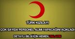 Türk Kızılayı personel alımı