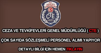 Ceza ve Tevkifevleri personel alımı ilanı